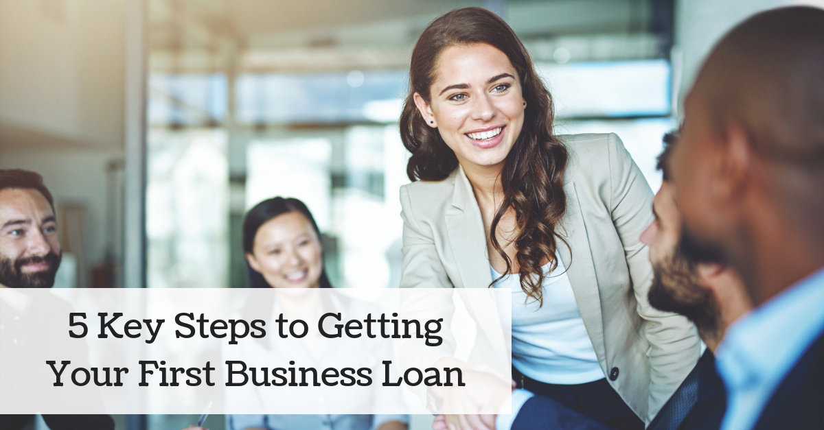 Getting your first business loan